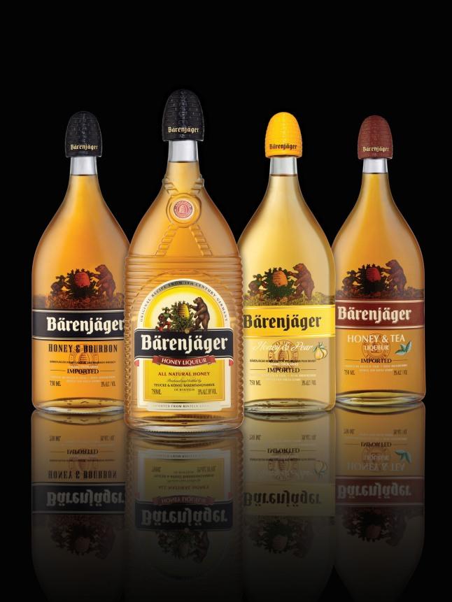 Introducing Barenjager Honey & Tea And Barenjager Honey & Pear.  (PRNewsFoto/Barenjager Honey Liqueur)