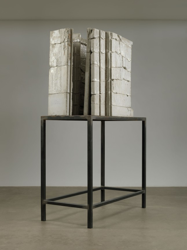 Isa Genzken Bild (Painting), 1989 Concrete and steel 103 9/16 x 63 x 30 5/16″ (263 x 160 x 77 cm) The Museum of Modern Art, New York. Gift of Susan and Leonard Feinstein and an anonymous donor. © 2012 The Museum of Modern Art, New York. Photo: Jonathan Muzikar