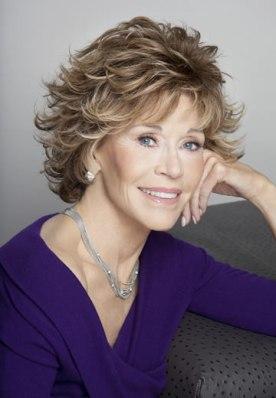 Jane Fonda, Photo courtesy of Firooz Zahedi