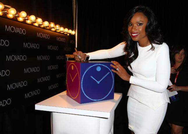Jennifer Hudson.  (PRNewsFoto/Movado Group, Inc.)