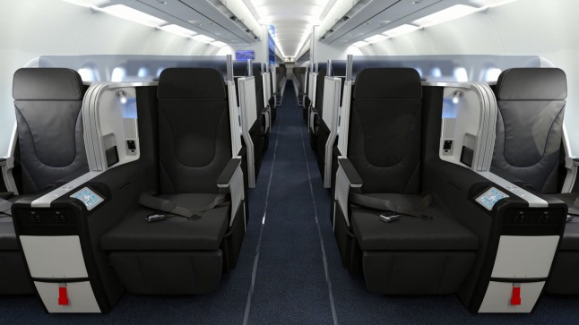 JetBlue Mint - Front Row. (PRNewsFoto/JetBlue Airways)