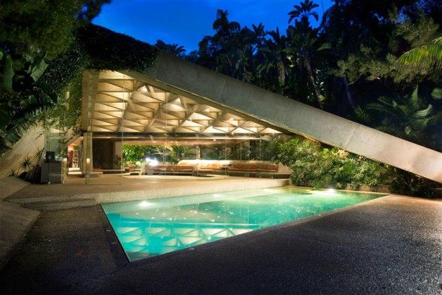 John Lautner's Sheats-Goldstein Residence (Photo Credit: Elizabeth Daniels)