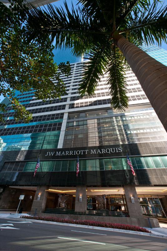JW Marriott Marquis Miami and Christie's Celebrate Miami's Art Deco Landscape with Pre-Sale Exhibition During Art Week 2013.  (PRNewsFoto/Marriott International, Inc.)
