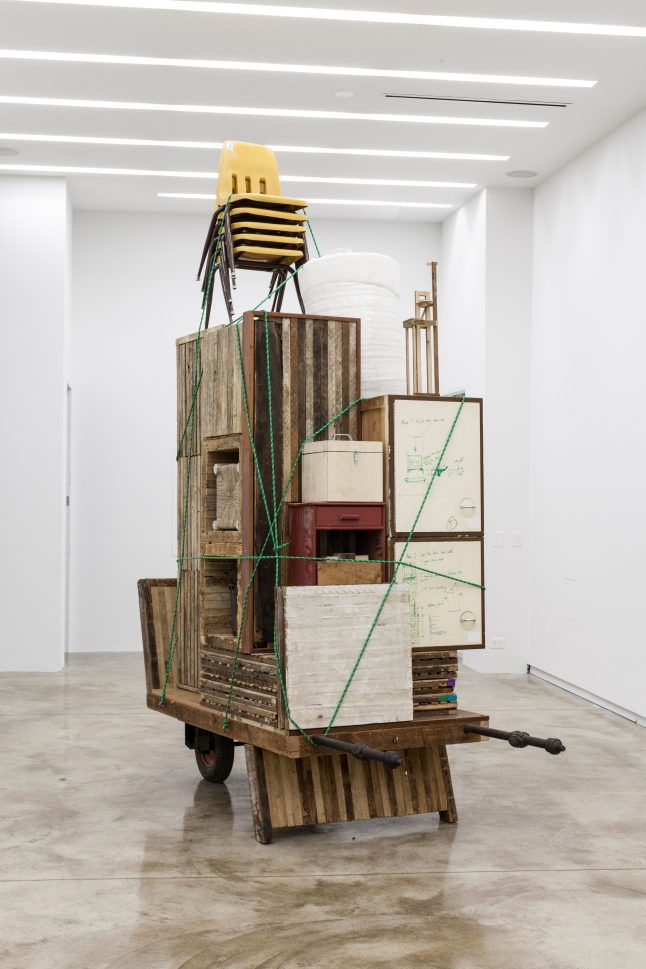 Kavi Gupta Gallery, Theaster Gates, Migration Rickshaw for German Living, Courtesy of Kavi Gupta CHICAGO I BERLIN