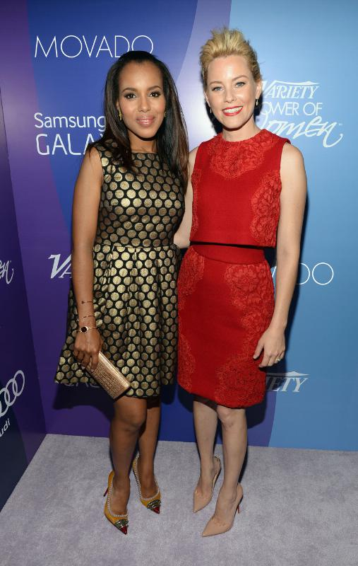 Kerry Washington and Elizabeth Banks.  (PRNewsFoto/Movado Group, Inc.)
