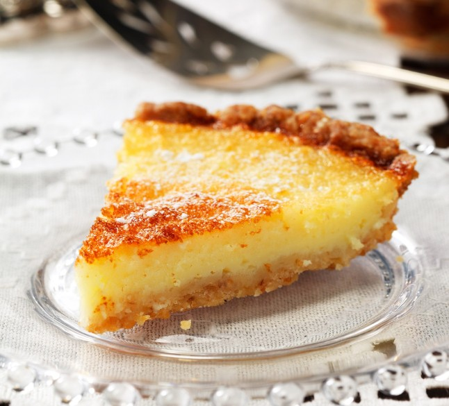 This Lemon Chess Pie, a Southern classic, has the requisite flaky pastry crust and sweet lemon custard filling, but it's healthier with canola oil.