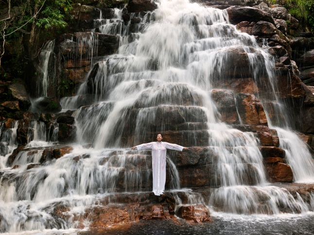Luciana Brito Galeria, Marina Abramovic, Places of Power, Waterfall, 2013, Courtesy the artist and the gallery