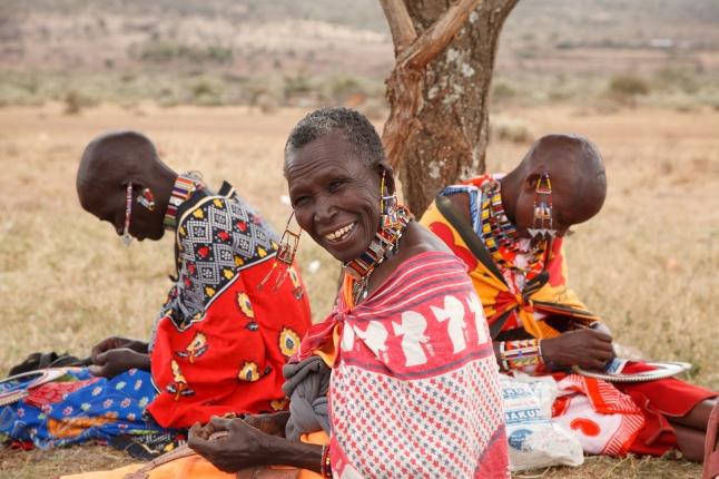 Maasai Mamas credit - V. Tony Hauser