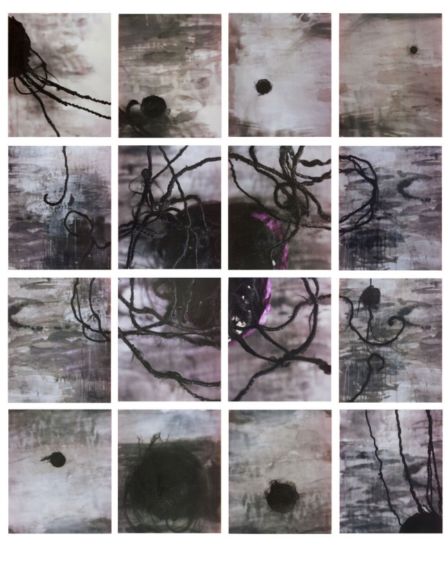 "María Magdalena Campos-Pons, ""Constellation"", 2004, instant color prints, Smithsonian American Art Museum, Museum purchase through the Luisita L. and Franz H. Denghausen Endowment. © 2004, María Magdale"