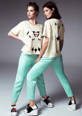 Minju Kim for H&M