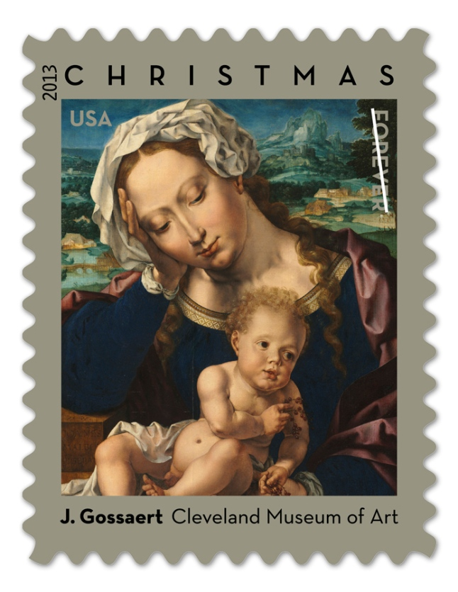 New Virgin and Child Forever Stamp