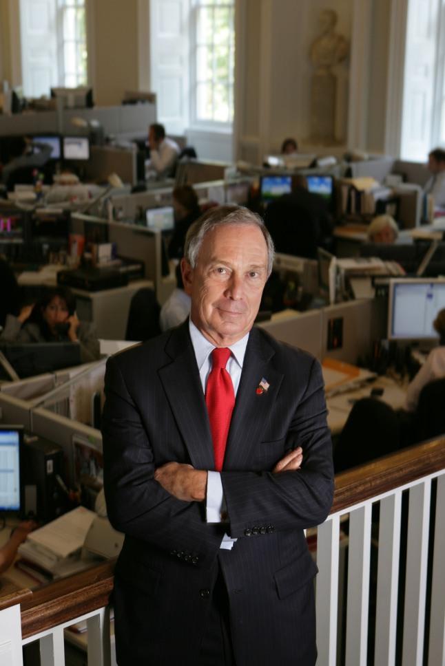New York City Mayor Michael R. Bloomberg is named the inaugural Genesis Prize Laureate.(PRNewsFoto/Genesis Prize)
