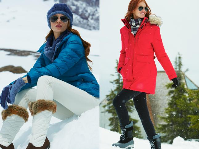 Lands' End Fall/Winter 2013 Outerwear Collection