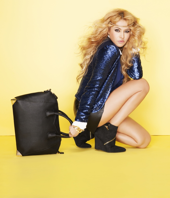 Paulina Rubio for JustFab