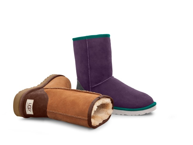 UGG by You Classic Short boot. (Courtesey of UGG Australia).  (PRNewsFoto/Deckers Outdoor Corporation)