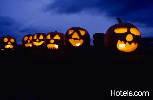 Hotels.com suggests top Halloween attractions and destinations for all kinds of thrill-seekers alike.  (PRNewsFoto/Hotels.com)