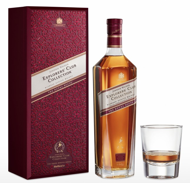 Johnnie Walker Explorers' Club Collection - The Royal Route bottle