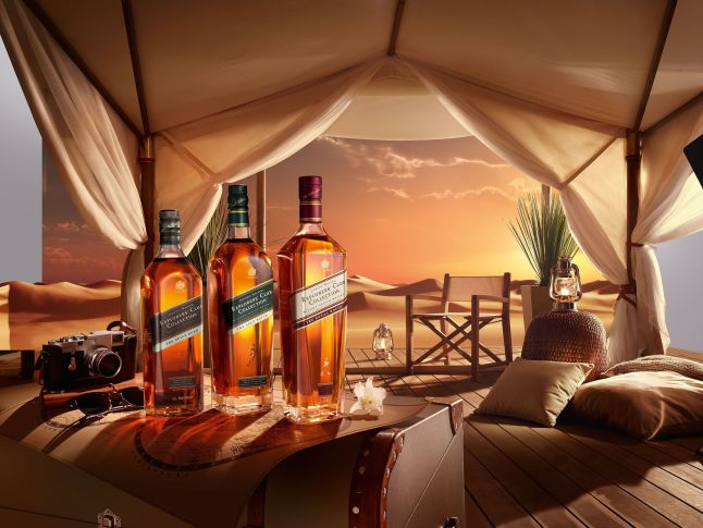 Johnnie Walker Explorers' Club Collection - The Royal Route is the jewel in the crown of the Trade Route Series.