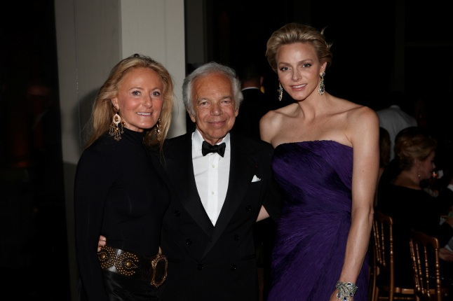 Ricky Lauren, Ralph Lauren, HSH The Princess Charlène of Monaco