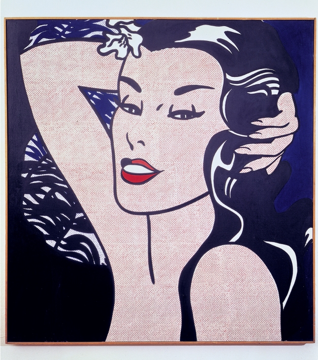 Roy Lichtenstein (United States, 1923–1997). Little Aloha. 1962. Acrylic on canvas. 44 1/16 x 42 1/8″ (111.9 x 107 cm). Sonnabend Collection, New York. © Estate of Roy Lichtenstein