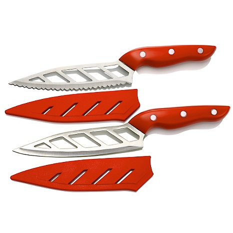 Simply Ming HSN Premiere 4-piece Aero Knife Gourmet Set
