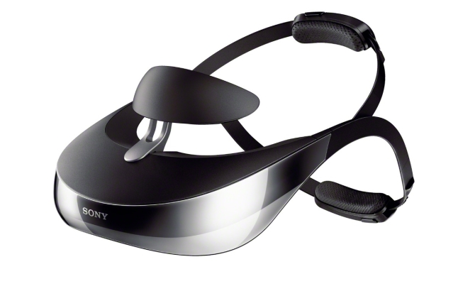 New Sony HMZ-T3W Personal 3D Viewer with Twin OLED Screens