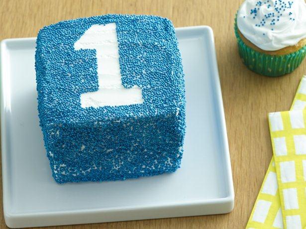Sprinkles Smash Cake