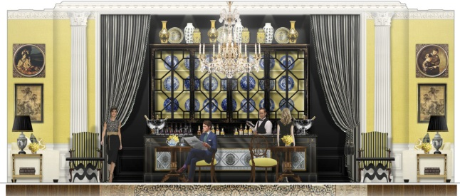 The Ritz-Carlton, Tianjin Lobby Lounge