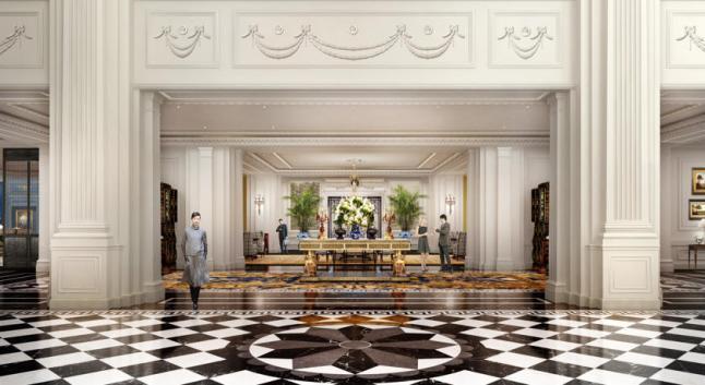The Ritz-Carlton, Tianjin Lobby
