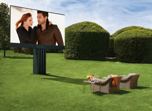 Ultimate Outdoor Entertainment System
