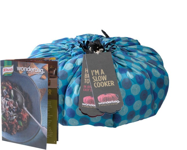 Wonderbag, the simple but revolutionary non-electric portable slow cooker, launches in the United States this fall, and is available exclusively at www.Amazon.com/Wonderbag. For every Wonderbag purchased in the U.S. through Amazon.com, one is donated to a family in need in Africa. (PRNewsFoto/Wonderbag)