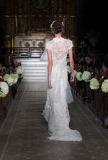 NEW YORK - NOVEMBER 12: Model walks runway for the 2014 Atelier