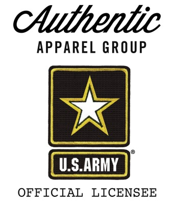 Authentic Apparel Group, Officially Licensed By the U.S. Army.  (PRNewsFoto/Authentic Apparel Group)