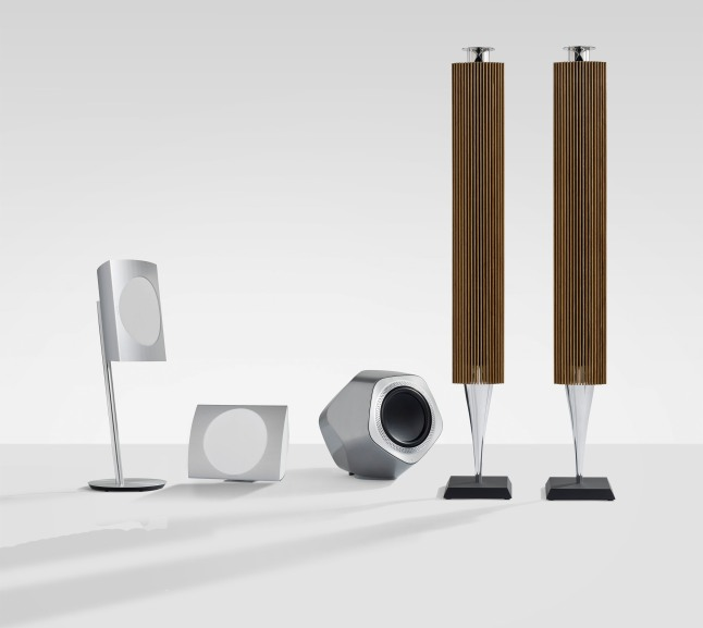 Bang & Olufsen Introduces Breakthrough in Wireless Sound with Three New Design Icons.  (PRNewsFoto/Bang & Olufsen)