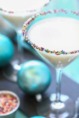 Sugar Cookie Sleigh Ride Martini