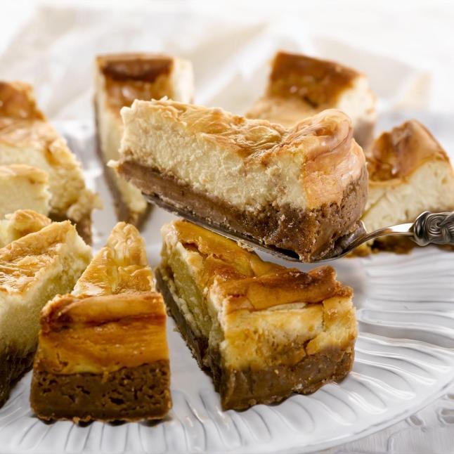 Dulce de Leche Swirl Cheesecake