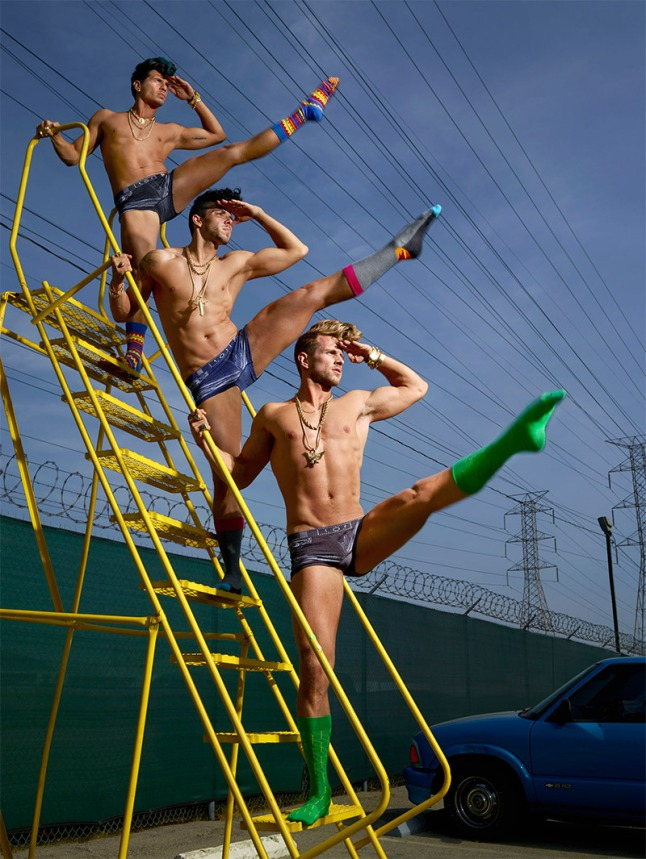 Happy Socks Launches Campaign with David Lachapelle