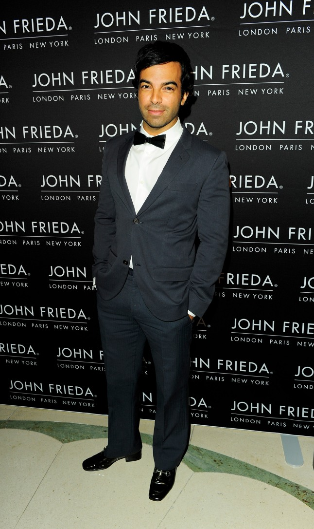 LONDON, ENGLAND - OCTOBER 29: Harry Josh arrives at the John Frieda party celebrating 25 years of transforming women's hair at Claridges Hotel on October 29, 2013 in London, England. (Photo by David M. Benett/Getty Images for John Frieda)