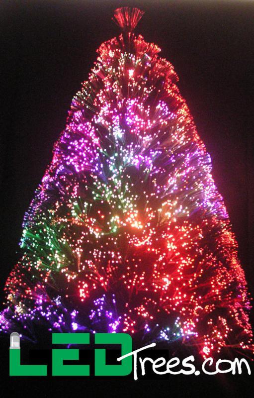 Fibre Optic Christmas Trees 6ft