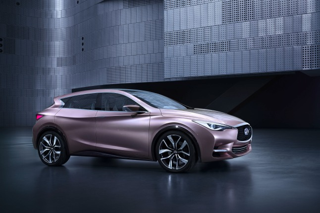 Infiniti Q30 Concept Makes North American Debut.  (PRNewsFoto/Infiniti)