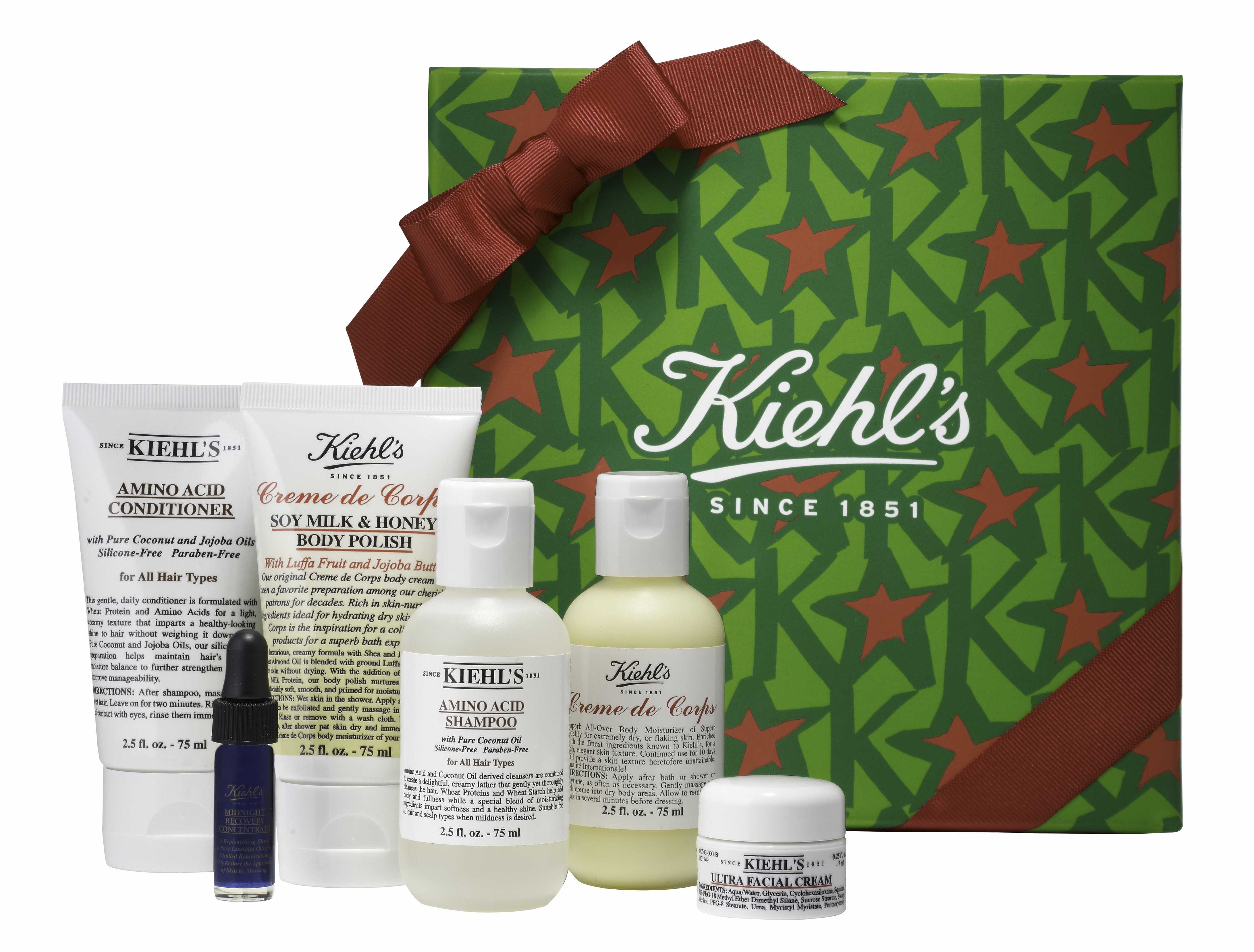 Kiehls Since 1851 Greatest Hits Collection Perfectlyclear Www Amino Acid Conditioner Fashion Lifestylewordpresscom