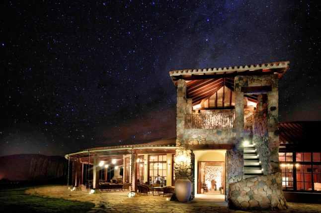 la estancia night sky