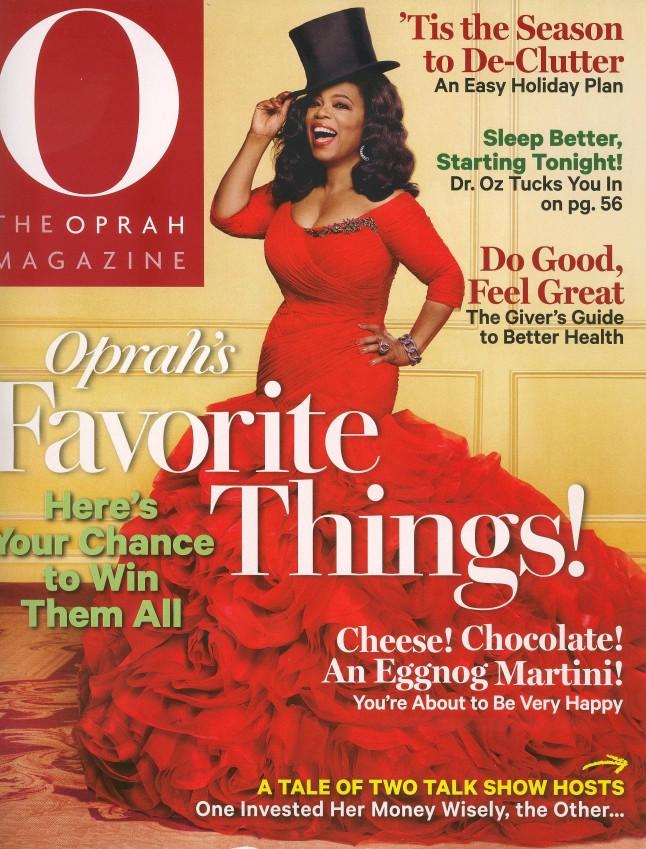 O, The Oprah winfrey magazine