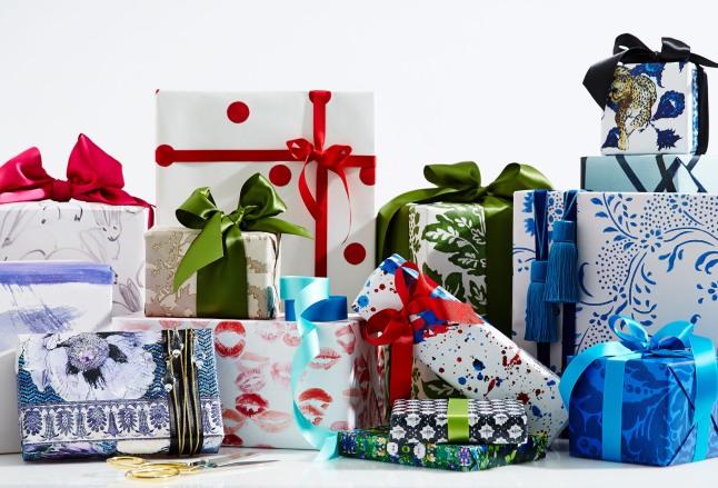One Kings Lane Designer Series Gift Wrap Collection.  (PRNewsFoto/One Kings Lane)