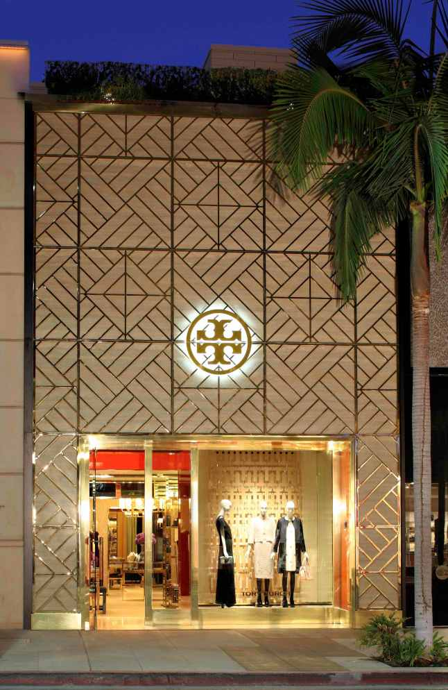 Tory Burch rodeo deive Flagship Boutique - Exterior