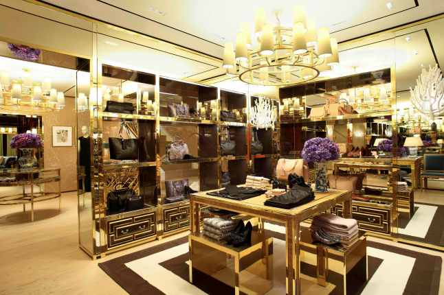 Tory Burch Rodeo Drive Flagship Boutique - Interior