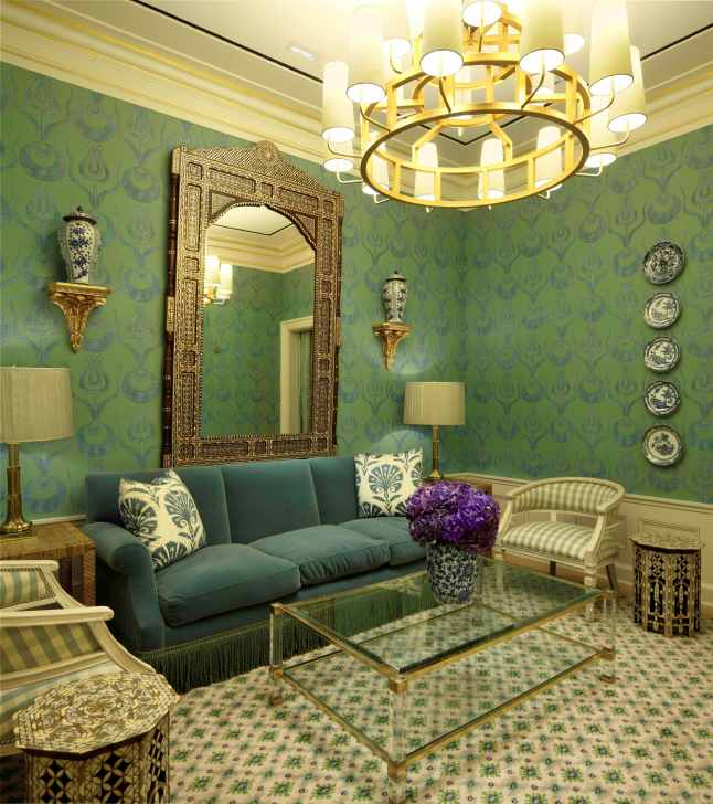 Tory Burch Rodeo Drive Flagship Boutique - VIP Floor