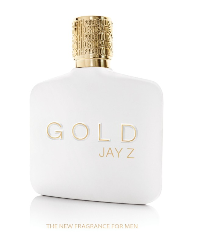 """Shawn """"JAY Z"""" Carter launches his first men's fragrance GOLD JAY Z.  (PRNewsFoto/Parlux Ltd.)"""
