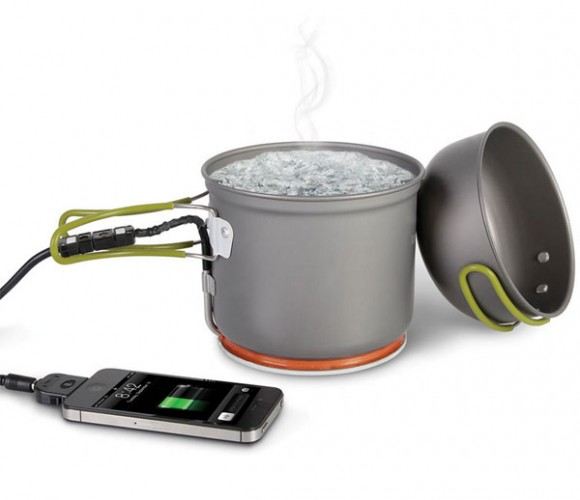The Thermodynamic Cell Phone Charger from Hammacher Schlemmer