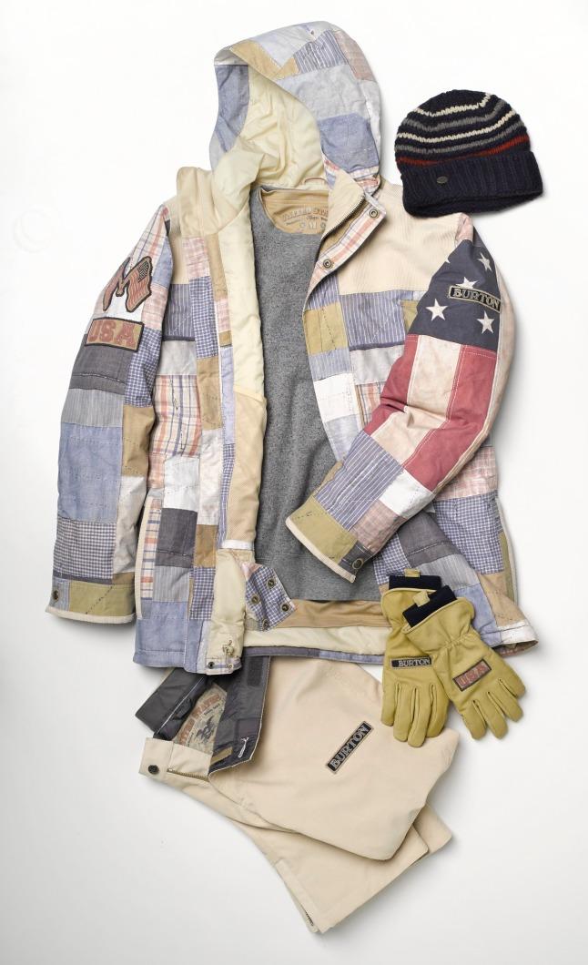 2014 U.S. SNOWBOARDING TEAM UNIFORMS - Men's Collection